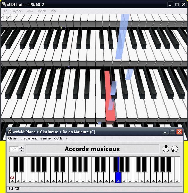 jouer du piano sur ordinateur